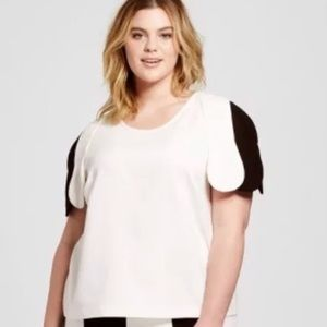 Victoria Beckham for Target Plus Size 3X Top